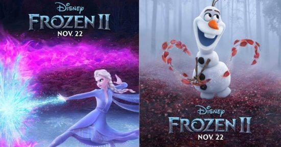 Frozen 2 Posters