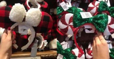 Minnie Mouse Ears Holidays