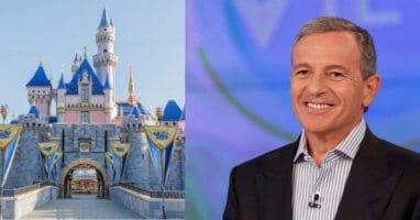 Bob Iger and Disneyland