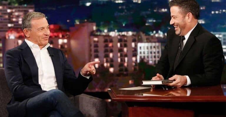 Bob Iger Jimmy Kimmel