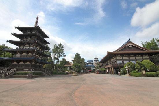 Japanese pavilion at Epcot
