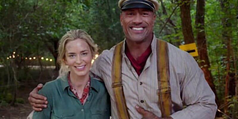Dwayne The Rock Johnson Jungle Cruise Movie Response