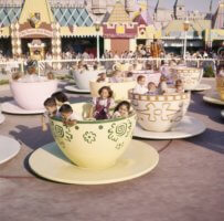 teacups ride at disneyland