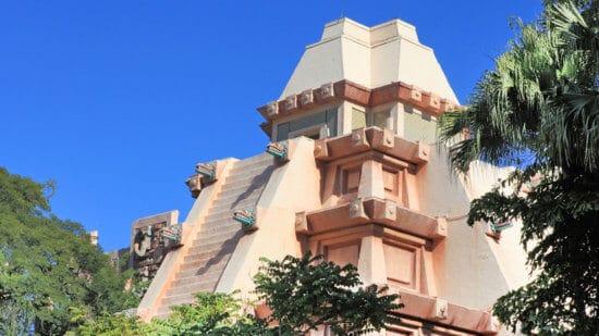 Mexican pavilion at Epcot
