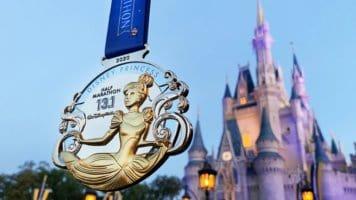 rundisney princess half marathon weekend medal