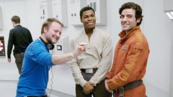 Rian Johnson with star wars
