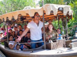 Dwayne Johnson on jungle cruise