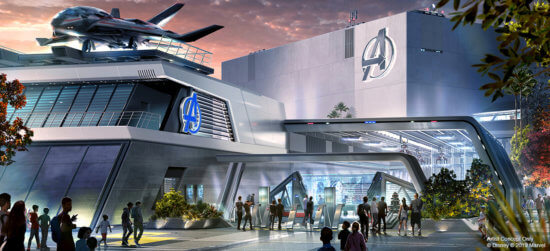 New Avengers Attraction