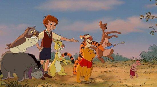 Winnie the Pooh 2011 animated movie
