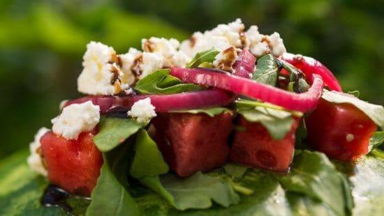 Epcot Watermelon Salad