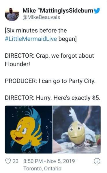 little mermaid live