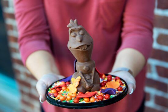 Chocolate Olaf Treat