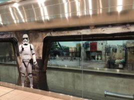 Storm Trooper stands guard at MCO