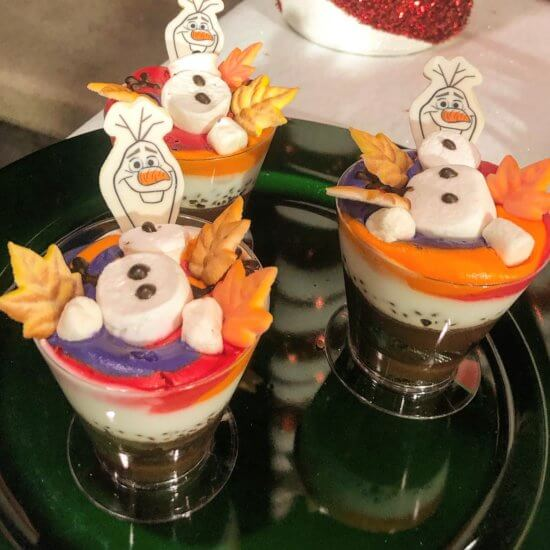Olaf's Frozen Hot Chocolate Cake