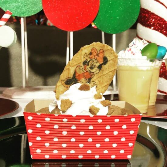 Christmas Cookie Sundae