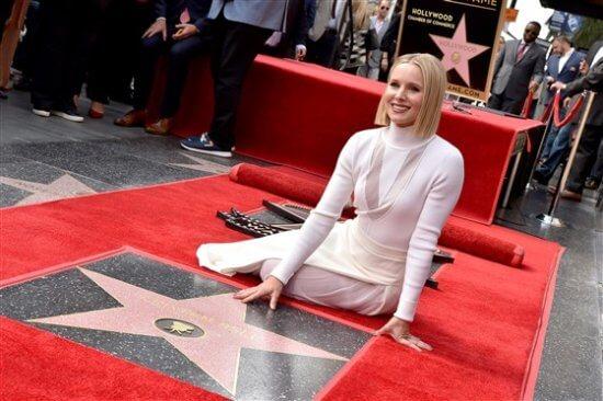 Kristen Bell Hollywood Walk of Fame Star