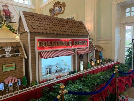 Boardwalk Resort Gingerbread House