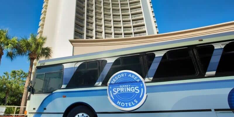 Disney Springs shuttle