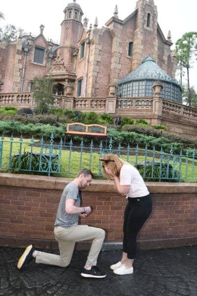 Kelly's haunted mansion disney Proposal