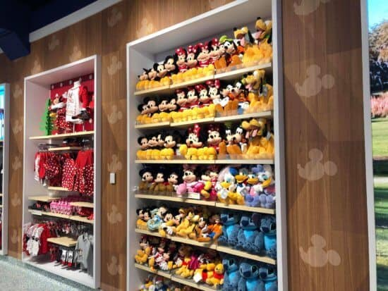 Magic of Disney Store Plush Wall