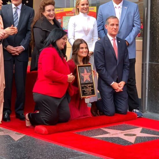 Melzel Hollywood Star received Plaque
