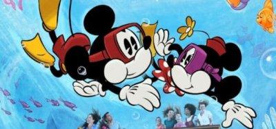 Mickey & Minnie's Runaway Railway Attraction Poster
