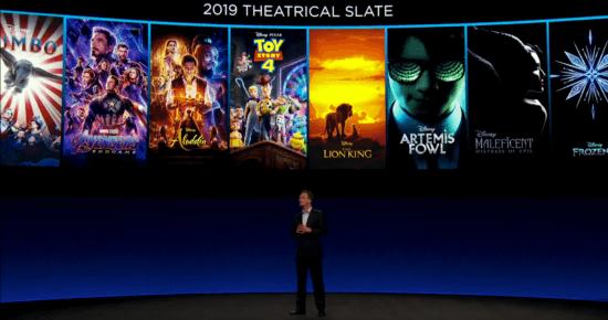 2019 Movie Slate, Disney Investors Day
