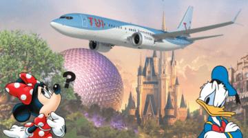 tui flights walt disney world