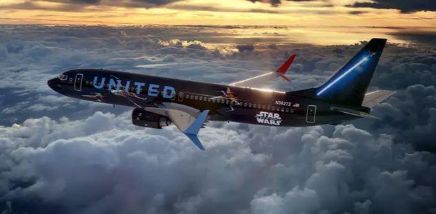 United Star Wars jet