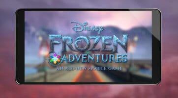 Frozen adventures game