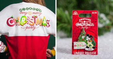 Mickey's Very Merry Christmas Party Merch