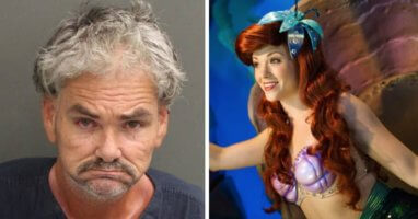 WDW Ariel Incident