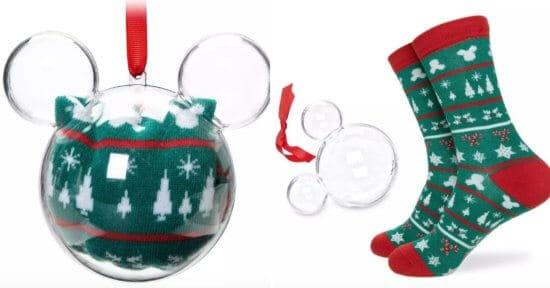 Mickey Mouse Icon Holiday Socks