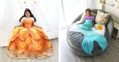 Disney princess blankets