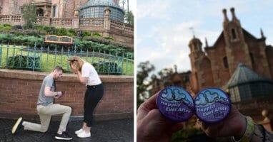 Haunted Mansion disney Proposal Kelly Coffey