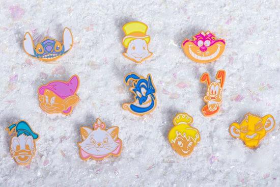 Disney Holiday Pin Set