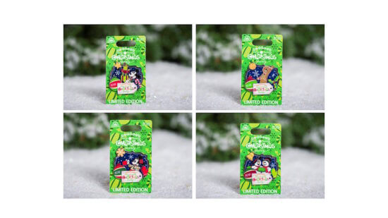 Disney Holiday Pins