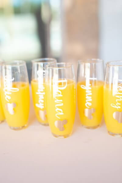 hidden mickey champagne glasses