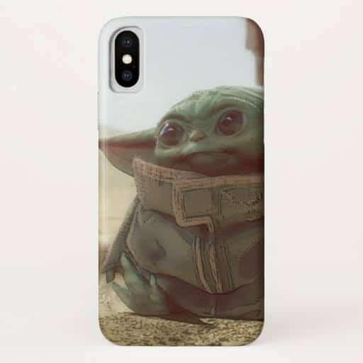 baby yoda phone case