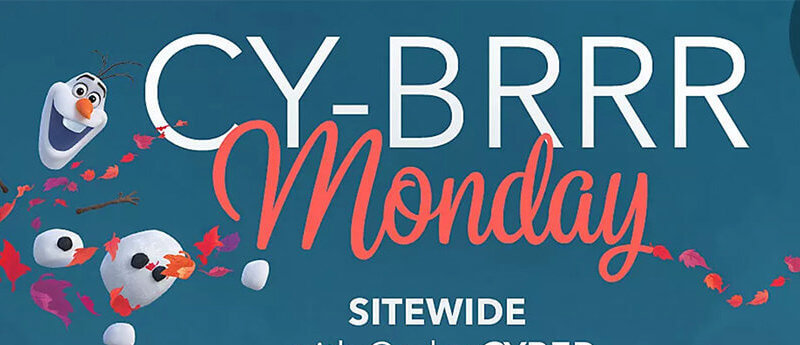 Cyber Monday Disney