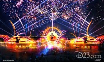 epcot harmonious fireworks
