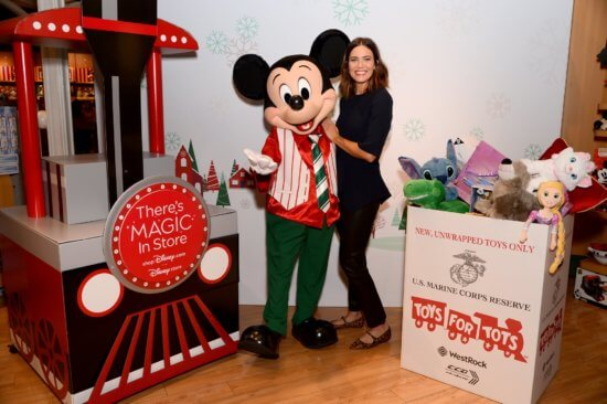Mandy Moore / Toys For Tots Foundation
