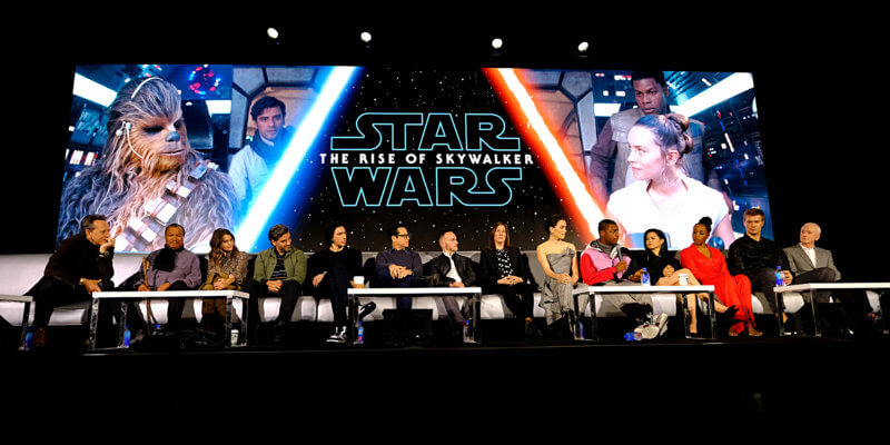 the rise of skywalker cast and crew