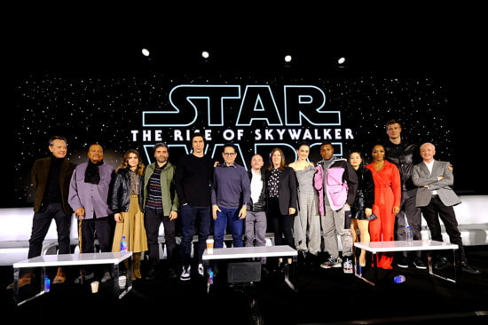 the rise of skywalker press conference