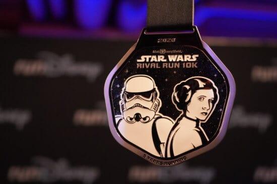 Star Wars Princess Leia and Stormtrooper Medal