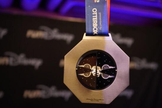 Star Wars runDisney half marathon medal