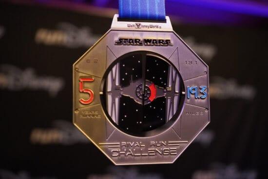 Star Wars runDisney 10k medal 2020