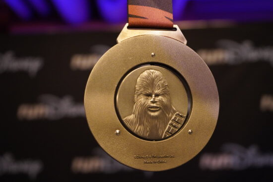 Star Wars runDisney virtual medal