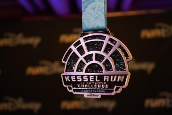 Kessel Run Challange Star Wars runDisney medal