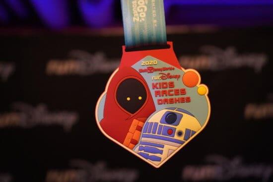 runDisney Star Wars Kids medal